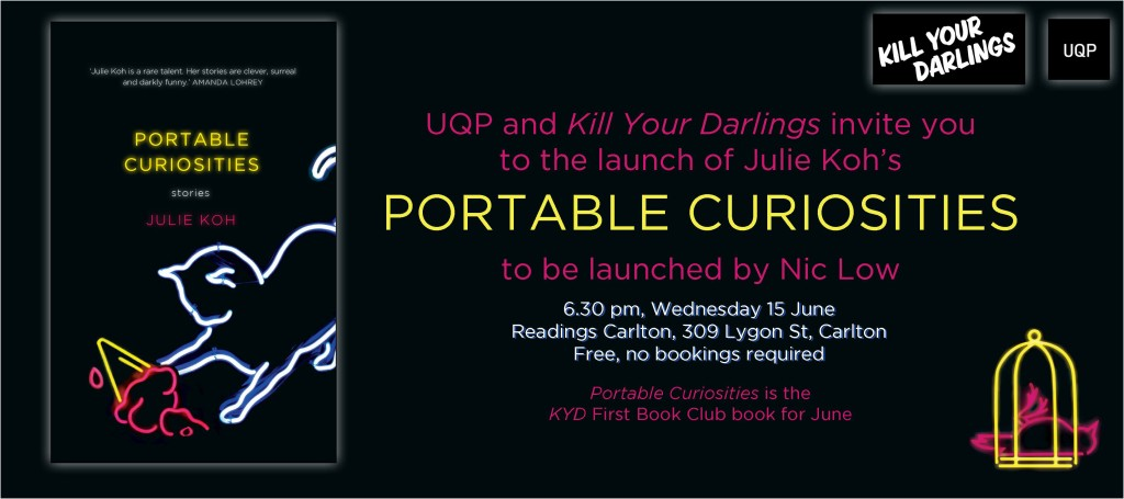 Koh Readings launch invitation